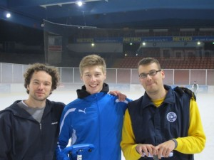 Das Siegerteam: David Rutkowski (2), Alex Arampatzis (Skip), Patrick Holz (3)