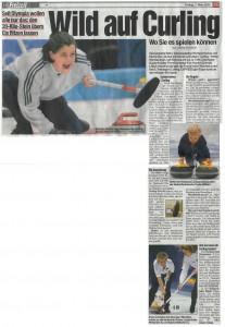 Wild auf Curling (Express, 01.03.02)