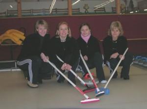 v.l.n.r.: Richeza Kraiting, Suzanne Laumen, Nina Baukloh, Ulla Baukloh